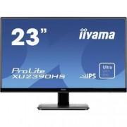 "Iiyama LED monitor Iiyama ProLite XU2390HS-B1, 58.4 cm (23 ""),1920 x 1080 px 5 ms, IPS LED HDMI™, DVI, VGA"