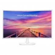 Monitor Samsung Gamer Curvo LC32F391FWL DisplayPort HDMI LED 32-Blanco