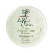Le Petit Olivier Crema nutritivă cu ulei de masline pentru față si corp 125 ml