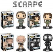 Funko Pop 4 Rogue One Young Jyn Erso Galen Droid Star Wars