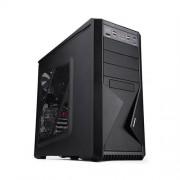 Skrinka Zalman MidTower Z9 Plus, mATX/ATX, priehľadný bok, bez zdroja, čierna