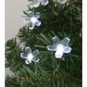 Home dekoráció izzósorhoz, virág, 50 db-os (DECO 7)