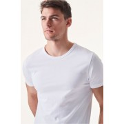 Mens Next White T-Shirts Five Pack - White Tee T-Shirt