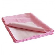 Dream Care Ninnu Water Proof Large Size 140x100cm Pink Baby Sheet