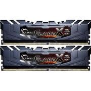 Memorija G.Skill Flare X 16 GB, kit (2x8GB), AMD, F4-2933C14D-16GFX, DDR4 2933MHz