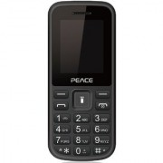 Peace P1-Black (1.8-inch Dual Sim 850 Mah Battery / 16GB Expandable / BIS certified/ Wireless FM)