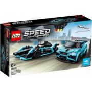 LEGO Speed Champions Formula E Panasonic Jaguar Racing GEN2 and Jaguar I-PACE eTROPHY No. 76898