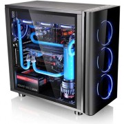Carcasa Thermaltake View 31 Tempered Glass Edition, fara sursa, Negru