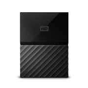 WESTERN DIGITAL External HDD | WESTERN DIGITAL | My Passport | 1TB | USB 3.0 | Colour Black | WDBYNN0010BBK-WESN