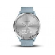 Garmin Reloj deportivo GARMIN Vívomode HR (Bluetooth - 5 dias de autonomía - Pantalla táctil - Azul)