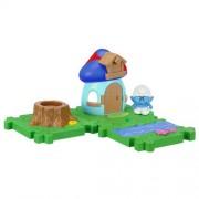 SMURFS 2 Micro Figure Starter Pack: Hefty Smurf House