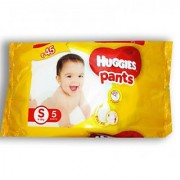 HUGGIES PANTS SIZE- S ( SET OF 5 PCS )