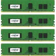 Kit Memorie Server Crucial ECC RDIMM 4x4GB DDR4 2400MHz CL17 Single Rank x8 Quad Channel