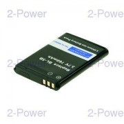 2-Power Mobiltelefon Batteri Nokia 3.7v 760mAh (BL-5B)