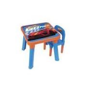 Conjunto Infantil Mesa Com Cadeira Hot Wheels 6927-0 Fun