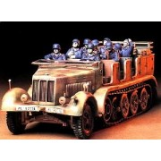 Tamiya 1/35 German 8 ton Semi Track Sd.Kfz.7 Military Model Kit