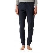 Tommy Hilfiger Pantaloni pentru femei pentru timpul liber Iconic Lightweight Knit Track Pants 1487906016-416 Navy Blazer L