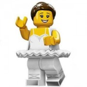 Идентифицирана минифигурка Лего Серия 15 Балерина - Lego series 15 Ballerina - 71011-10
