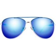 TOM MARTIN Aviator Sunglasses(Blue)