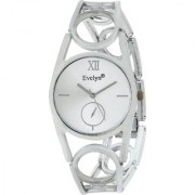 Evelyn Analogue White Dial Stainless Steel Girls Watches-eve-504