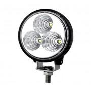 Munkalámpa / DRL 3 LED kerek terítő fény