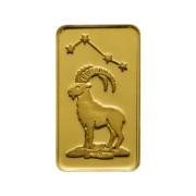 1 g Goldbarren Sternzeichen Steinbock