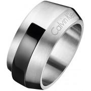 Calvin Klein Inel din oțel pentru bărbați Bump KJ4MBR2101 62 mm