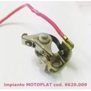 contatti punte platinate Minarelli - impianto MOTOPLAT