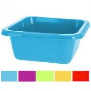 Afwasbak plastic vierkant