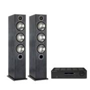 Pachete PROMO STEREO - Monitor Audio - Bronze 6 + Cambridge Audio Topaz SR20 Black Oak