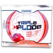 TRIPLE XPLODE (la plic) - Energizant pre-antrenament, cu creatină, arginină, beta-alanină și cafeină