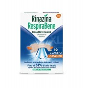 Glaxosmithkline C.Health.Spa Rinazina Respirabene Classici Grandi 10 Cerotti Nasali