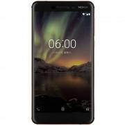 Smartphone Nokia 6 2018 32GB 4GB RAM Dual Sim 4G Black