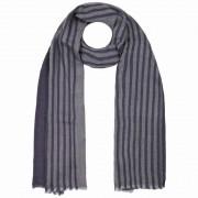 Passigatti Herringbone Stripes Schal Wollschal Winterschal Herrenschal Streifenschal