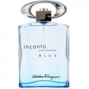 Salvatore Ferragamo Incanto Blue Homme Eau De Toilette Spray 100ml