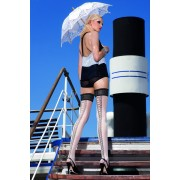 Trasparenze - Sensuous patterned hold ups Ribbons
