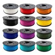 3d XYZprinting PLA (NFC) filament 600gr, 1.75mm, Clear RED, за DaVinci Junior (3D-XYZ-PLA-600GR-RED)