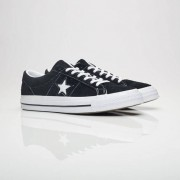 Converse One Star Ox In Black - Size 42