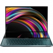 Laptop Asus ZenBook Pro Duo UX581GV-H2002R 15.6 inch UHD Touch Intel Core i7-9750H 16GB DDR3 1TB SSD nVidia GeForce RTX 2060 6GB Windows 10 Pro Celestial Blue