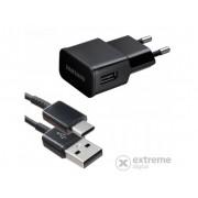 Incarcator retea Samsung USB, 5V/2A, negru ( incarcare rapida, cablu Type-C )