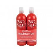 Tigi Bed Head Resurrection Tween Duo 2 x 750 ml Schampo och Balsam