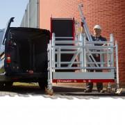 Altrex MiTower PLUS Fahrgerüst 1-Person-Aufbau Aluminium mit breiter mit Fiber-Deck Plattform 0,75x1,72m 8,20m AH