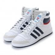【SALE 10%OFF】アディダス オリジナルス adidas Originals トップテン TOP TEN HI (ホワイト×ネイビー×レッド) レディース メンズ