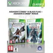 Assassins Creed IV Black Flag + Assassins Creed Rogue, за XBOX 360