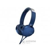 Casti Sony MDRXB550APL, albastru