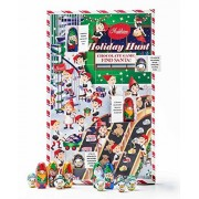 Find Santa! Christmas Holiday Hunt Chocolate Game Includes Assortment of 16 Milk Chocolates