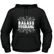 Badass husband - negru - FOL - S