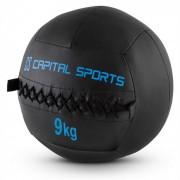 Epitomer Jogo de Wall Balls 9kg Pele sintética 5 Unidades - preto