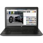 Laptop HP ZBook 15 G4 Intel Core Kaby Lake i7-7700HQ 256GB 16GB nVidia Quadro M2200 4GB Win10 Pro FullHD Fingerprint Bl