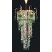 Pendant crystal chandelier 6037 01-3635/50